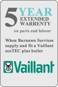 Vaillant 5 Year Warrenty